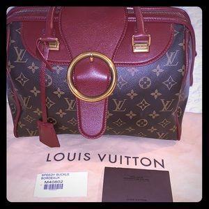 "Limited Ed Louis Vuitton Golden Arrow"" Speedy"" Bag"